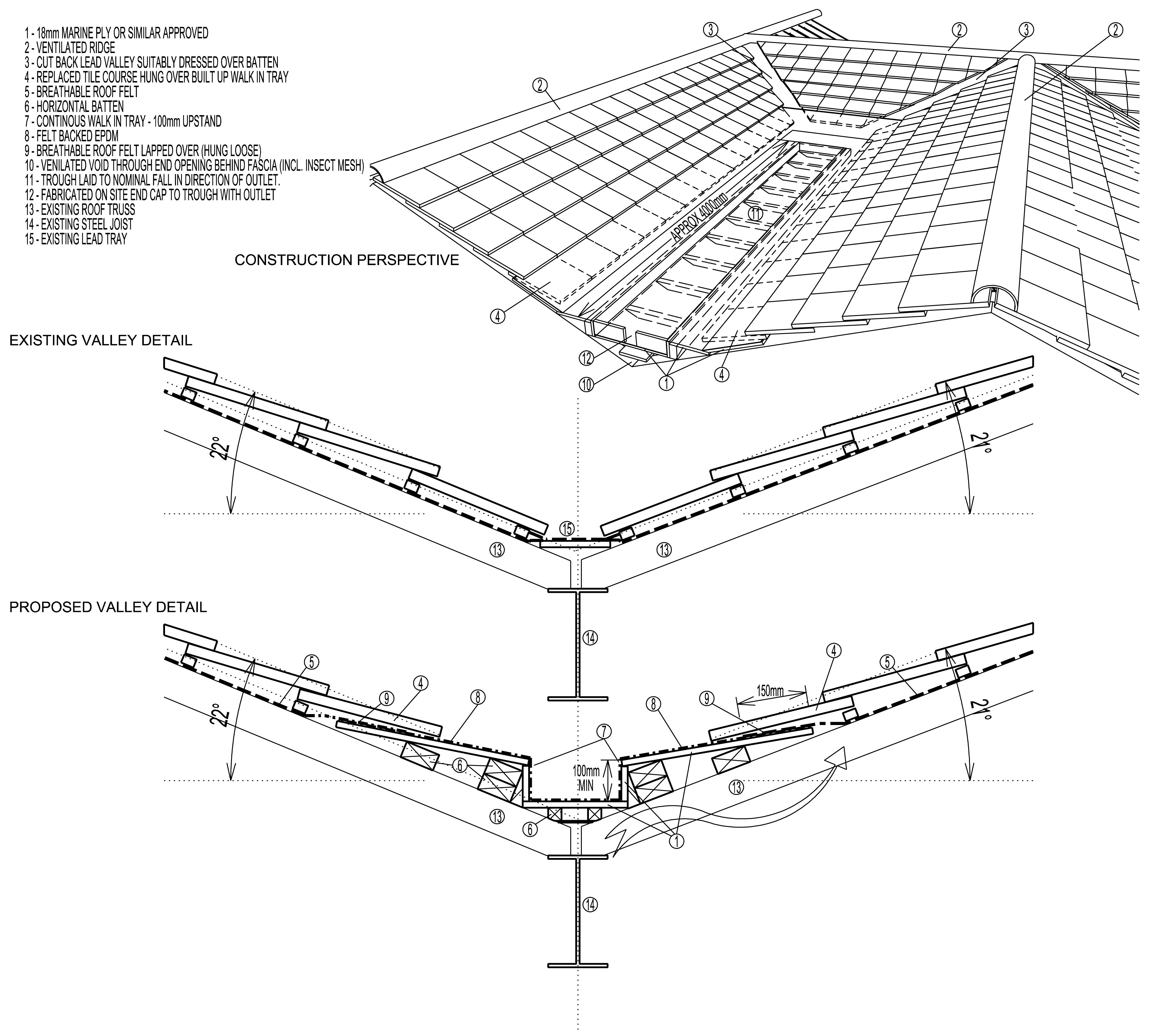 Architects Heald Green Leaking Roof Repair Design